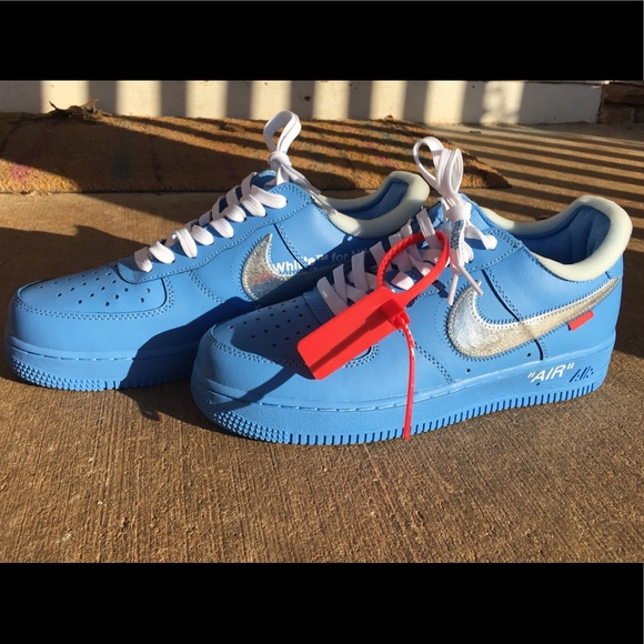 Off White Shoes Nike Offwhite Air Force 1 Low Mca University